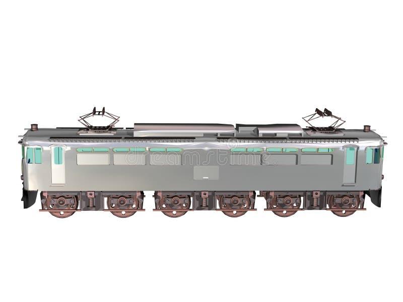 Locomotive illustration de vecteur
