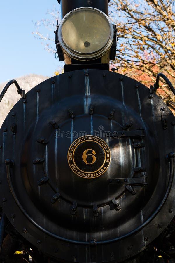 Baldwin Locomotive Pressurized Air System Editorial Photo