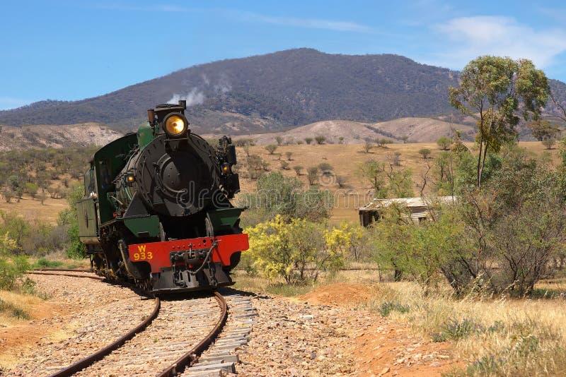 Locomotive de train de vapeur   photo libre de droits