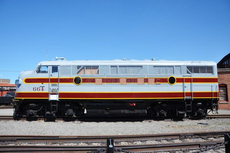 Locomotive diesel photos libres de droits