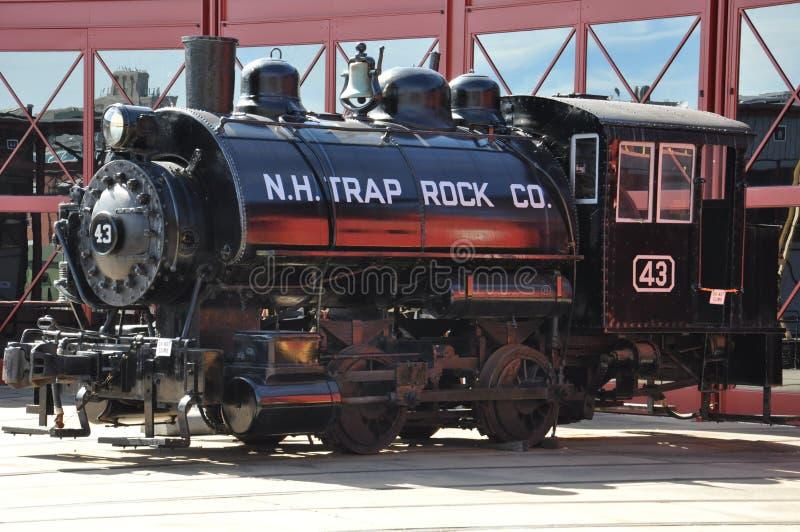 Locomotive diesel au site historique national de Steamtown dans Scranton, Pennsylvanie photos libres de droits