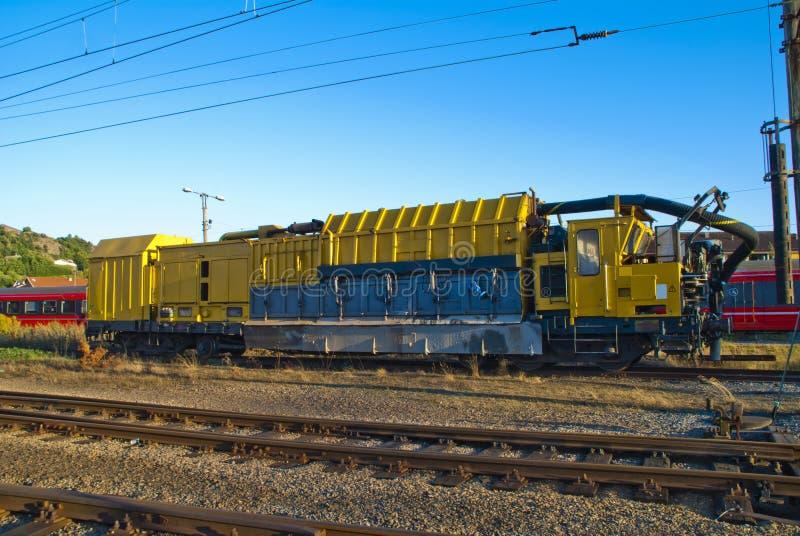 Locomotive fonctionnante image stock