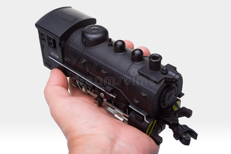 Locomotive on hand royalty free stock photography