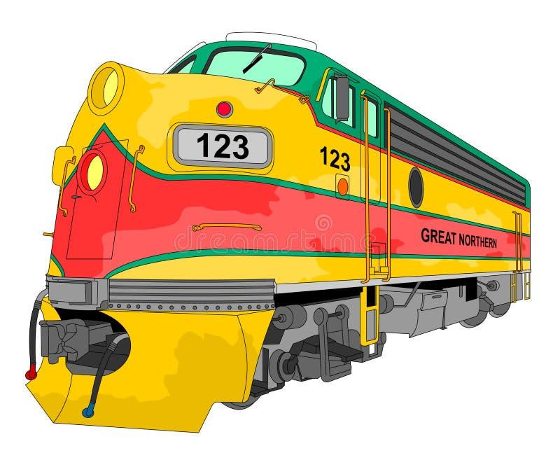 Download Locomotive Illustration Royalty Free Stock Photography - Image: 16743337