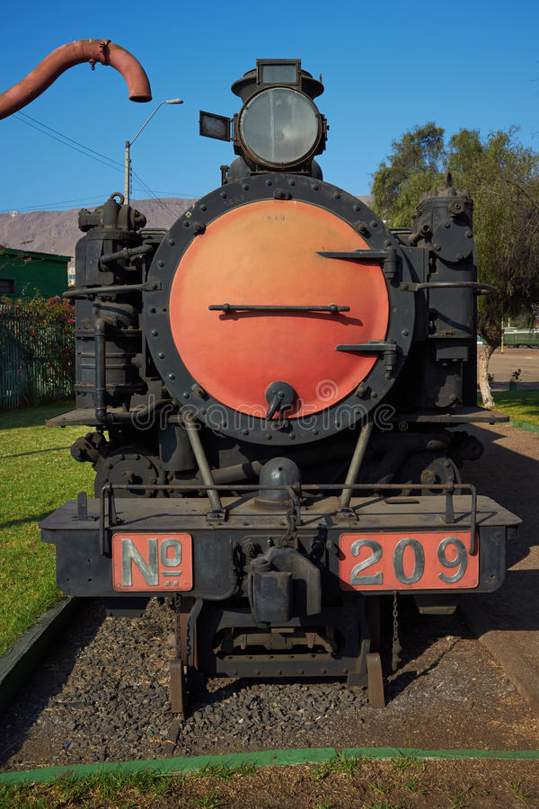 Locomotive Number 209 royalty free stock photography