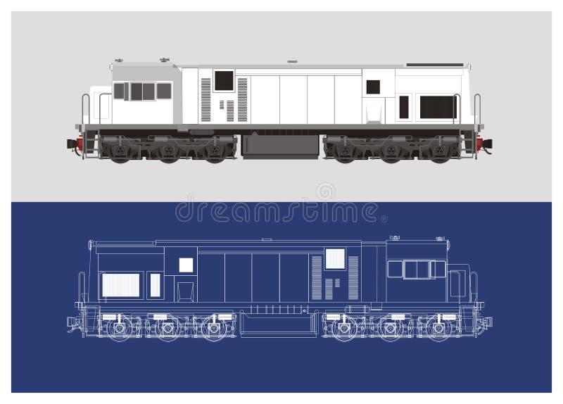 Locomotive technical drawing illustration 2 stock vector download locomotive technical drawing illustration 2 stock vector illustration of iron passenger 50804895 malvernweather Gallery