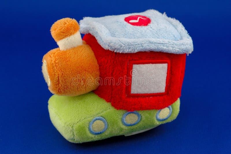 Locomotive toy stock image