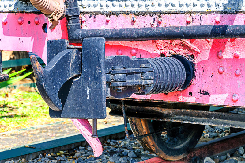 Locomotora de la biela fotos de archivo