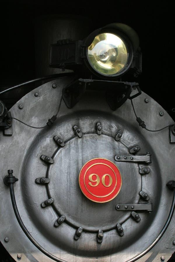 Locomotora de vapor fotografía de archivo