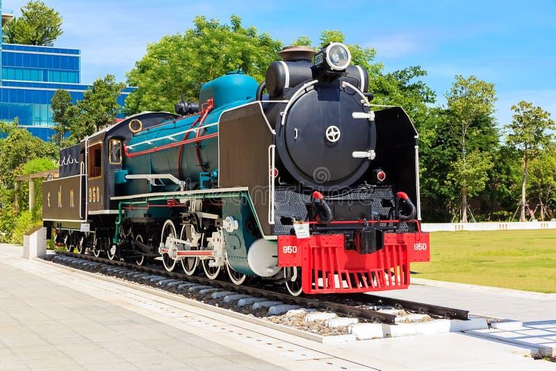 Locomotora de vapor de Mikado fotos de archivo