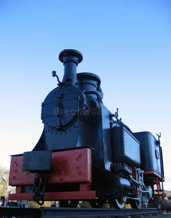 Locomotora de vapor vieja imagenes de archivo