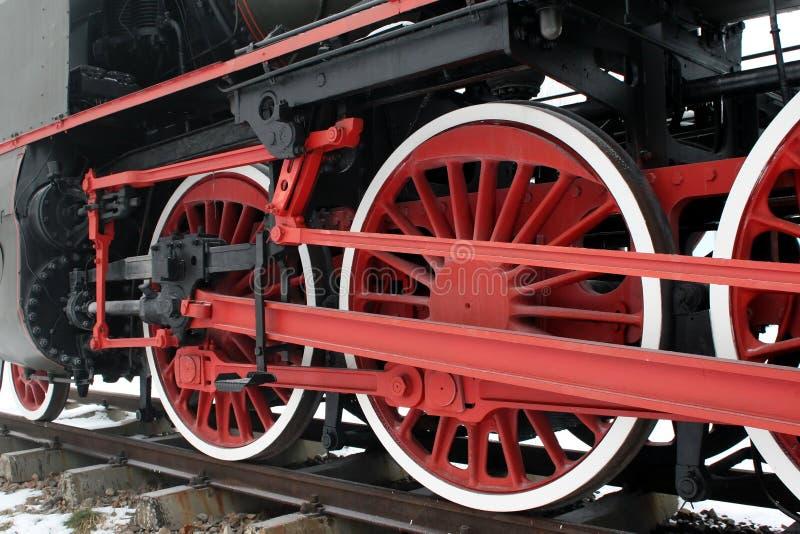 Locomotora de vapor vieja fotografía de archivo libre de regalías