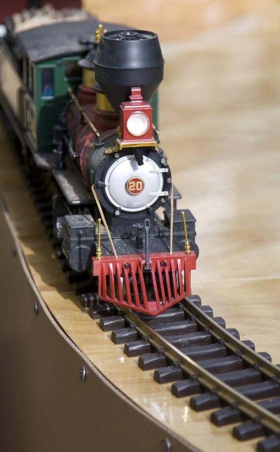 Locomotora del juguete fotos de archivo