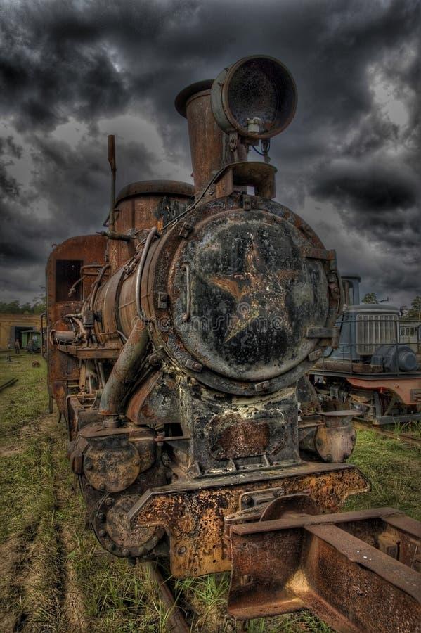Locomotora del moho fotografía de archivo libre de regalías