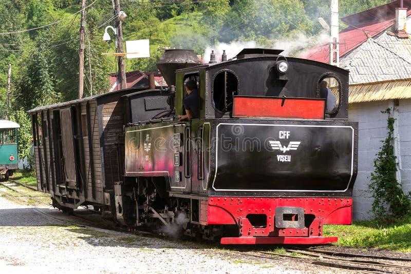 Locomotora del tren del vapor del vintage fotografía de archivo libre de regalías