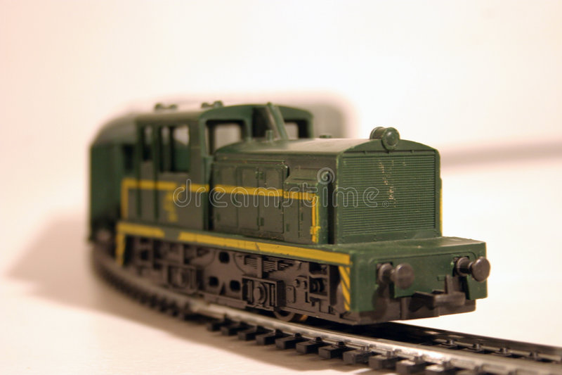 Locomotora diesel 1 foto de archivo libre de regalías