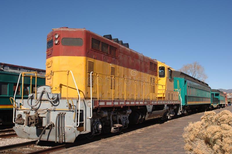 Locomotora diesel imagen de archivo libre de regalías