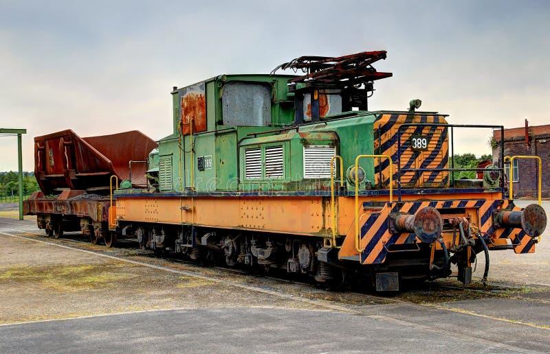 Locomotora Eléctrica Vieja Fotos de archivo libres de regalías