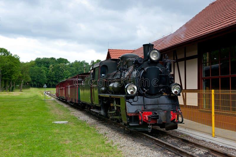 locomotora ferroviaria del Estrecho-indicador fotografía de archivo libre de regalías