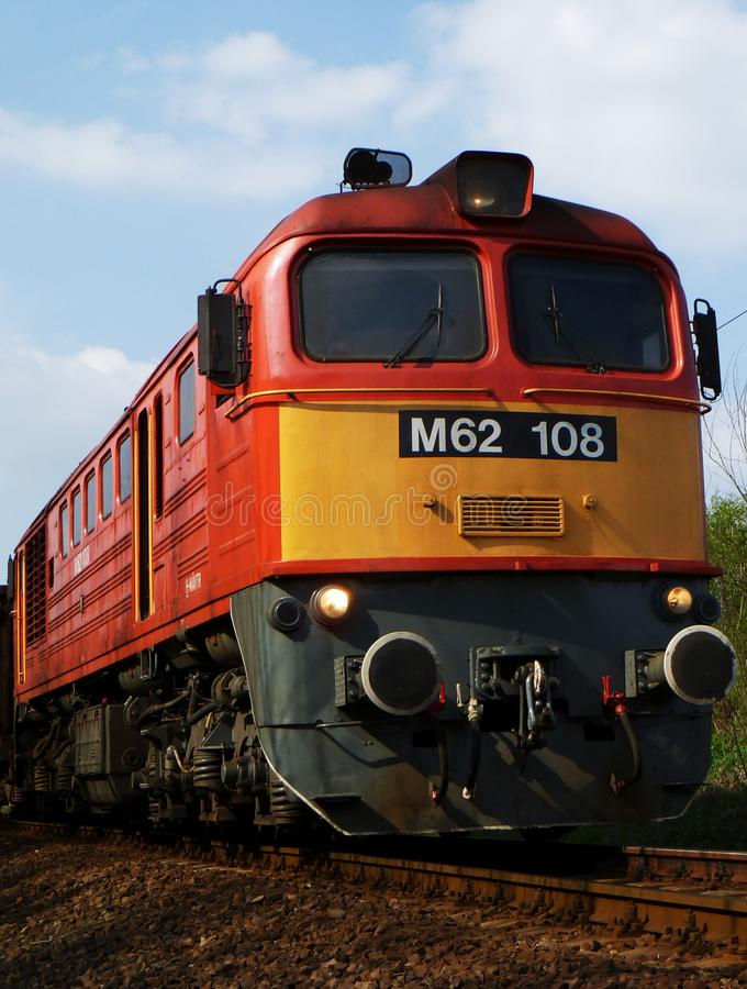 Locomotora M62 fotos de archivo