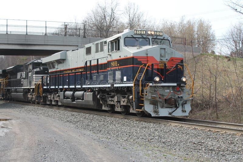 Locomotora meridional 8101 de la herencia de Norfolk foto de archivo