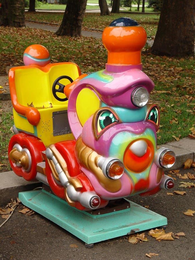 Download Locomotora para los niños imagen de archivo. Imagen de entusiasmo - 1293331