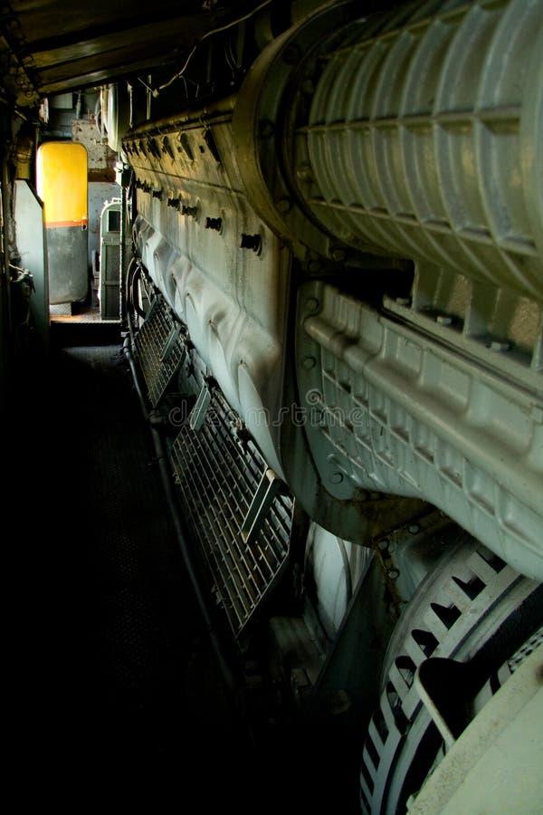 Download Viejo interior locomotor imagen de archivo. Imagen de tecnología - 7285217