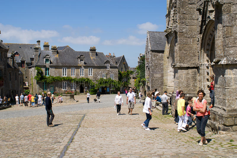Download Locronan In Brittany In Summer 2011 Editorial Image - Image: 20765665