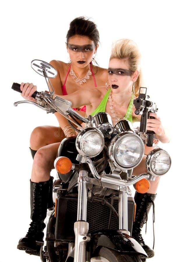 Locura de la motocicleta fotografía de archivo