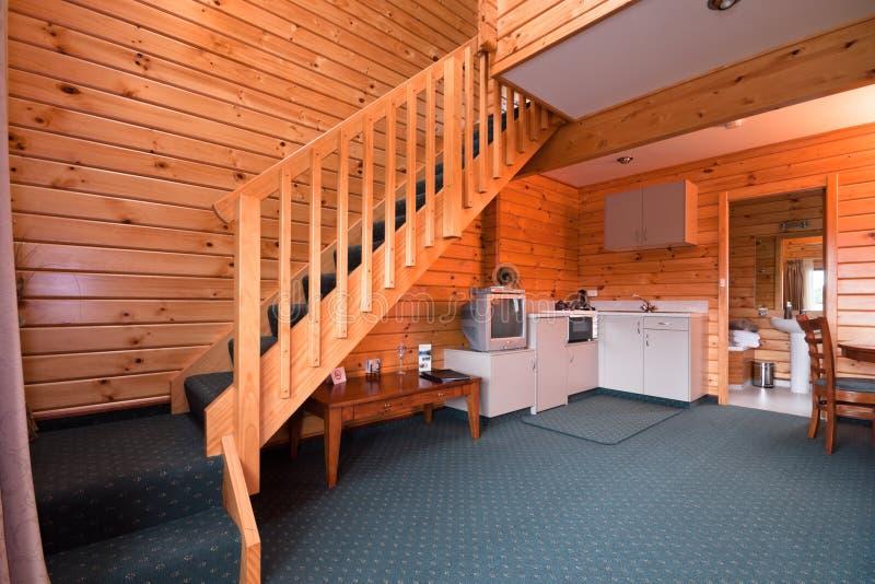 lodge квартиры нутряной стоковое изображение rf