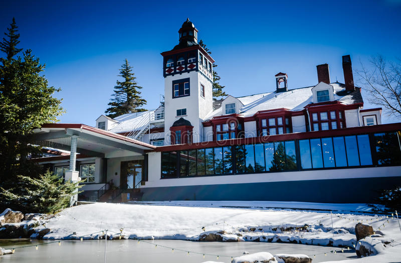 Lodge Resort - Cloudcroft, New Mexico stock photography