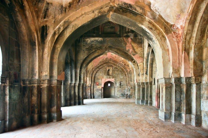 Lodi庭院段落在德里市,印度 库存图片