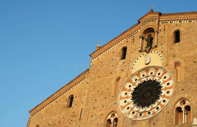 Lodi Cathedral Dome stock photos
