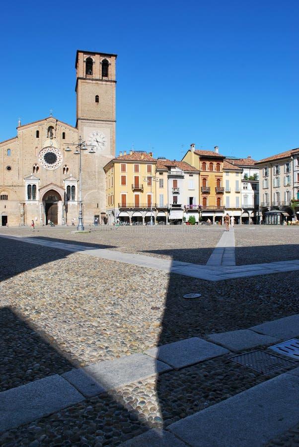 lodi de l'Italie de dôme romanic photos stock