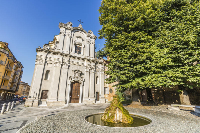 Lodi Italien royaltyfri foto