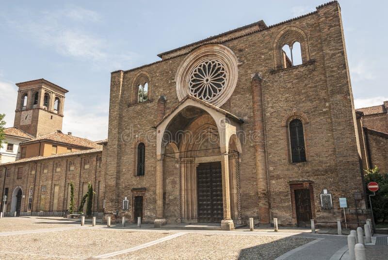 Lodi - kyrka av San Francesco arkivfoto