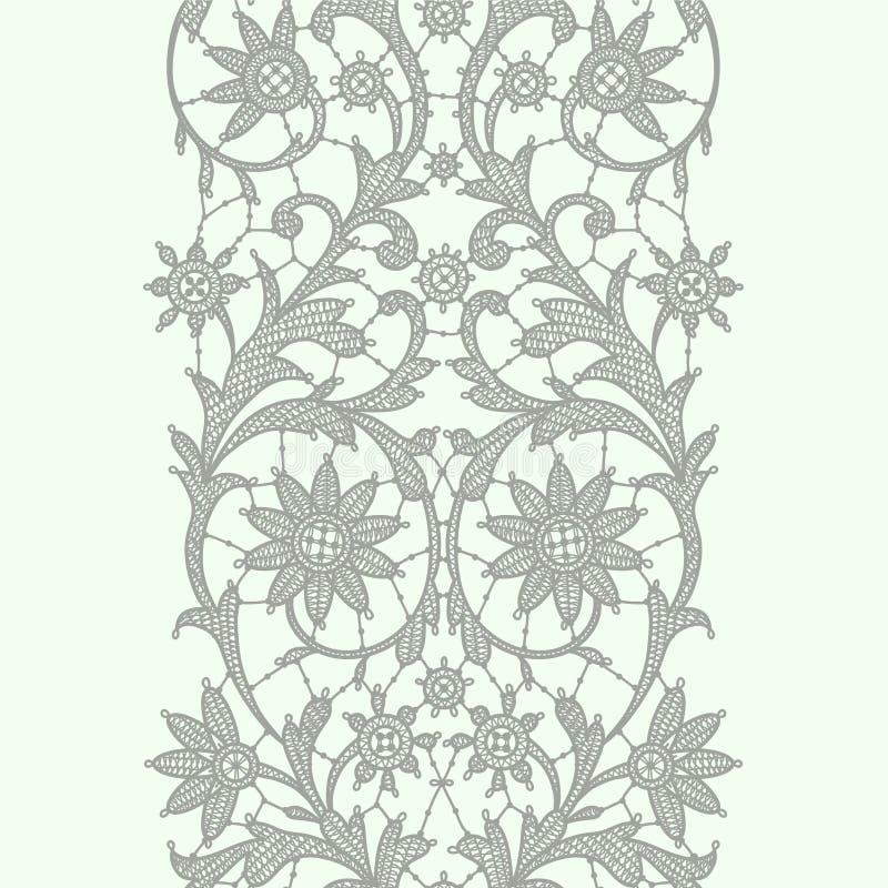 Lodlinjen snör åt bandet seamless modell royaltyfri illustrationer