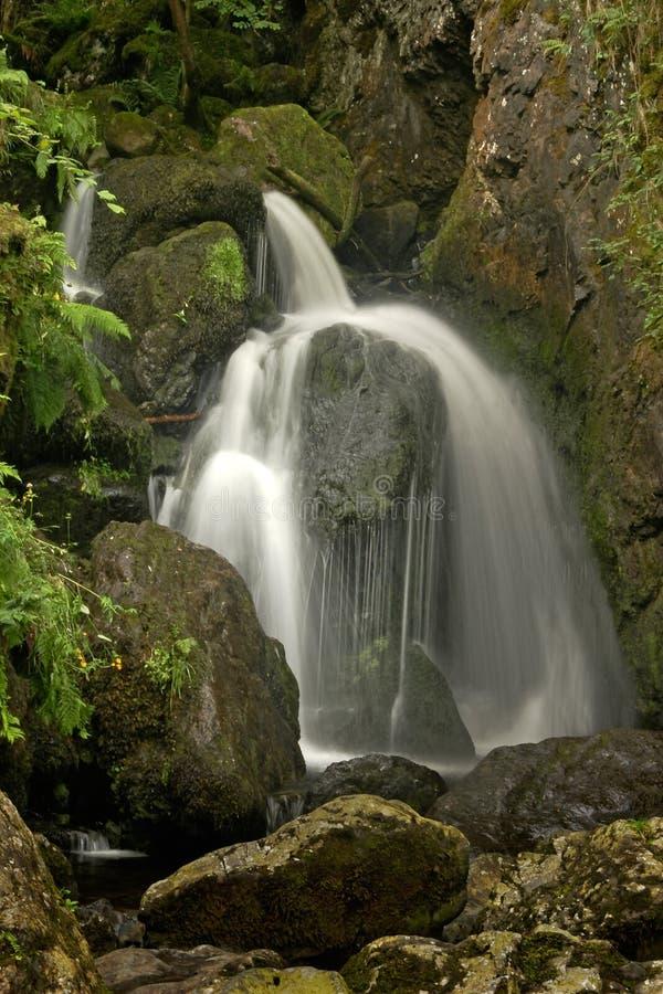 Lodore Falls Borrowdale royalty free stock photo