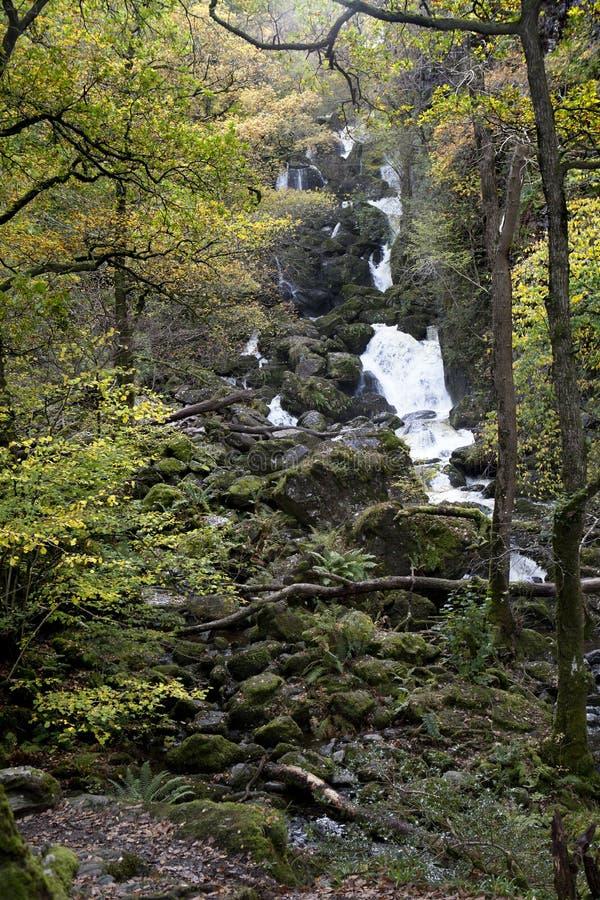 Lodore Falls, Borrowdale, royalty free stock photos