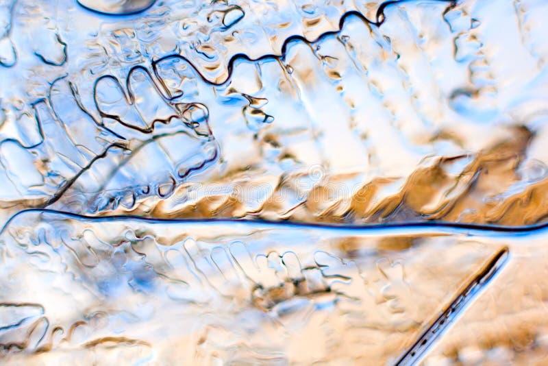 Lodowa abstrakcja obrazy stock