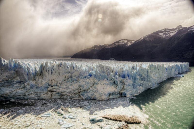 lodowa argentina perito Moreno fotografia stock