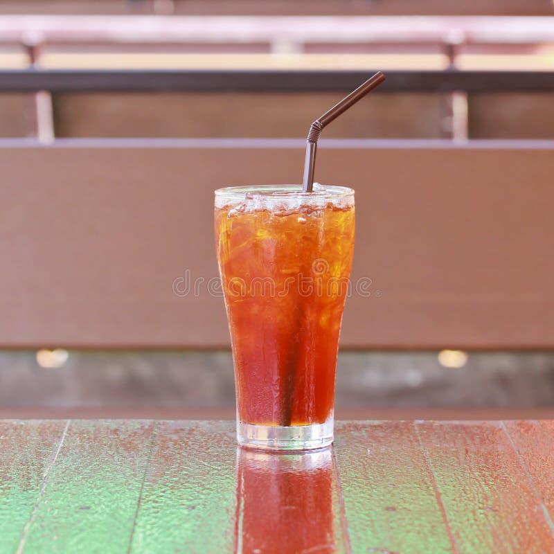 Lodowa cytryny herbata fotografia stock