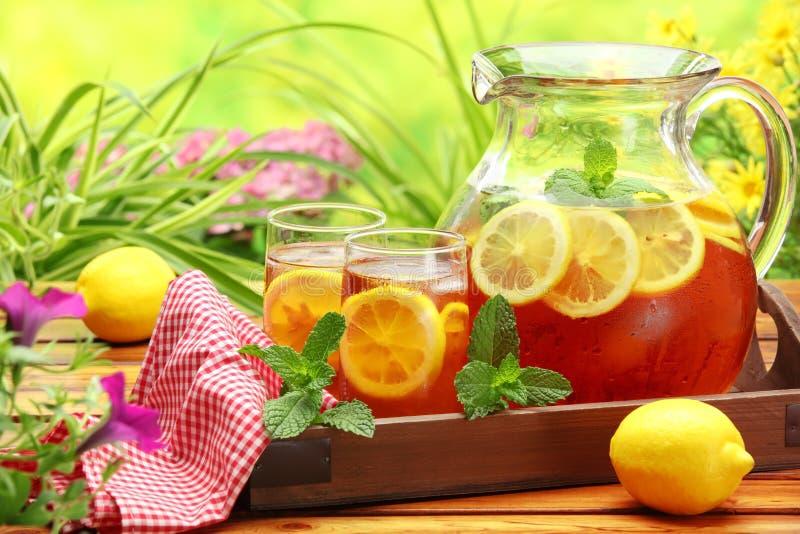lodowa herbata zdjęcia royalty free