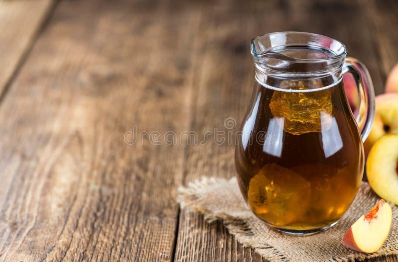 Lodowa herbata (brzoskwinia) zdjęcia stock