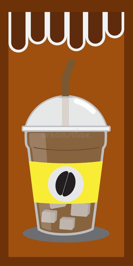 Lodowa kawa zdjęcia stock