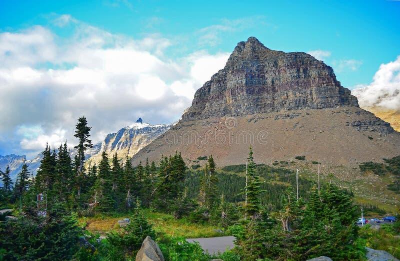 lodowa Montana park narodowy usa obrazy stock