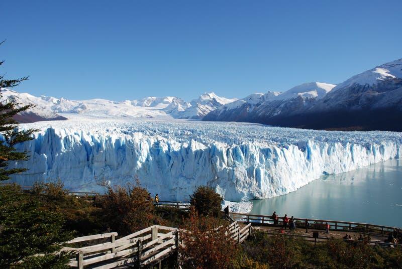 lodowa Moreno perito fotografia stock