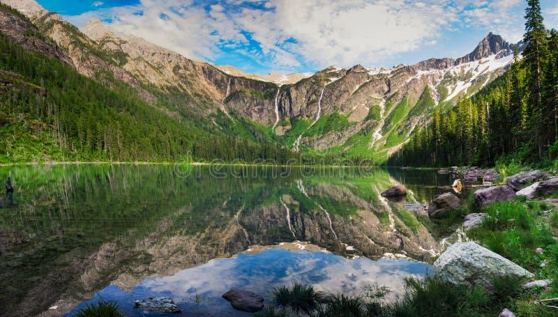 Lodowa park narodowy zdjęcie stock