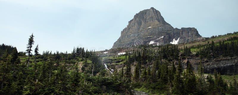 Lodowa park narodowy w Montana, usa fotografia royalty free