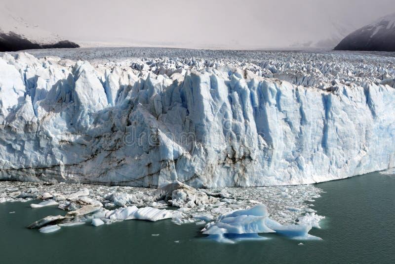 lodowa perito Moreno. zdjęcia royalty free